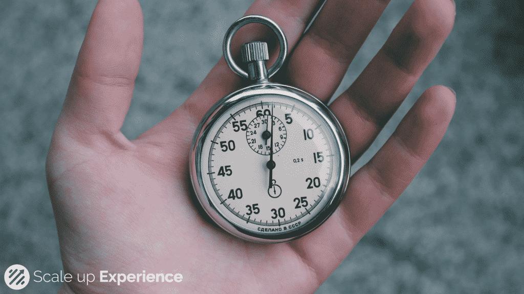 Timeboxing, het geheim van echt meters maken