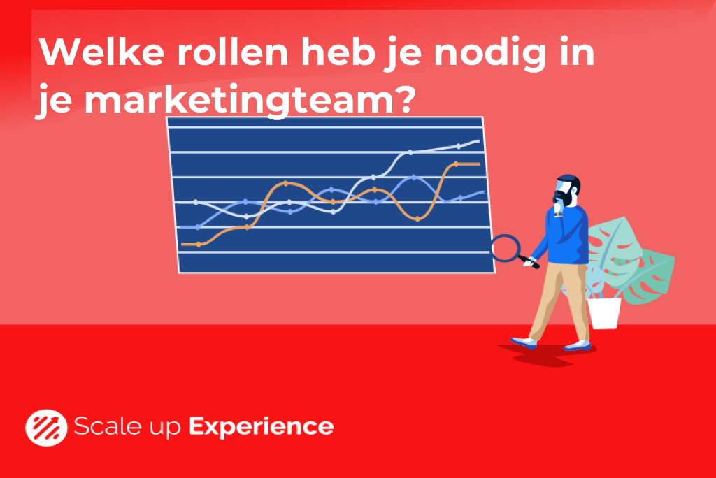 Welke rollen nodig in je marketingteam?