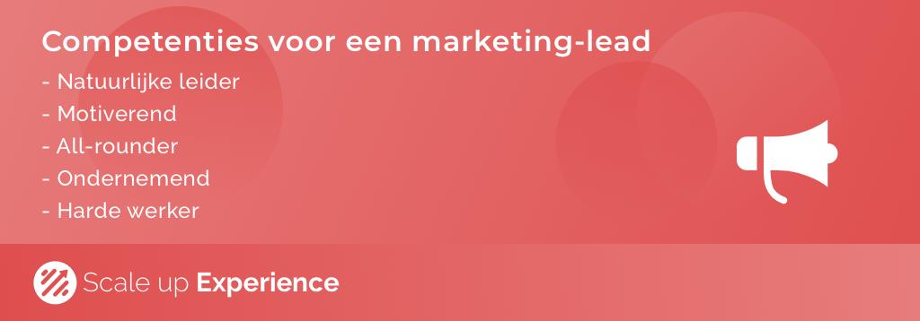 Marketingteam - Marketing Lead