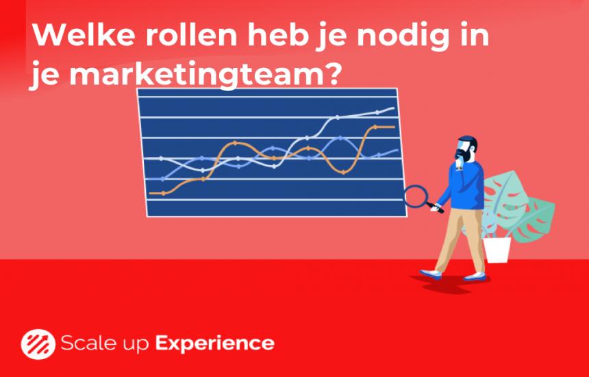 Welke rollen nodig in je marketingteam?